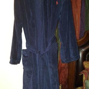 Men's Ralph Lauren Navy Blue Robe